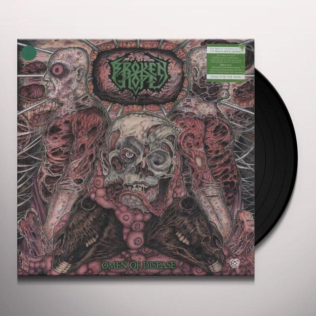 Broken Hope OMEN OF DISEASE Vinyl Record
