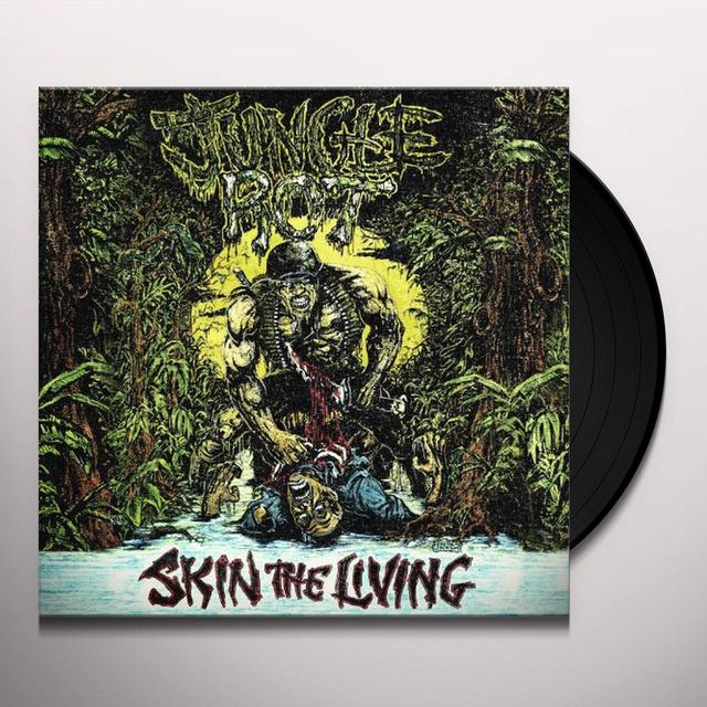 Jungle Rot SKIN THE LIVING Vinyl Record