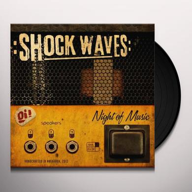 Shock Waves NIGHT OF THE MUSIC Vinyl Record