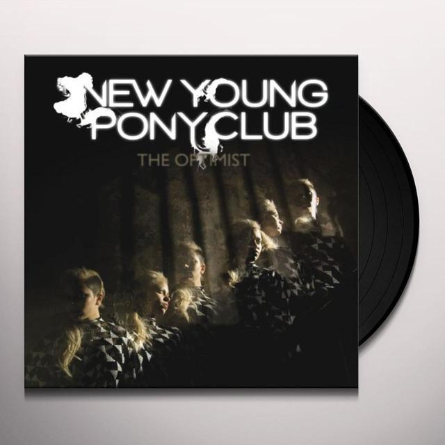 New Young Pony Club OPTIMIST Vinyl Record