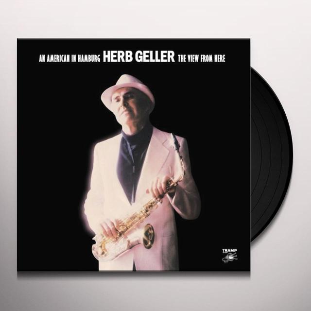 Herb Geller AMERICAN IN HAMBURG Vinyl Record