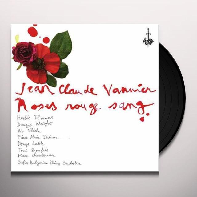 Jean-Claude Vannier ROSES ROUGE SANG Vinyl Record - UK Import