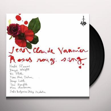 Jean-Claude Vannier ROSES ROUGE SANG Vinyl Record