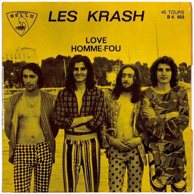 Les Krash HOMME FOU Vinyl Record