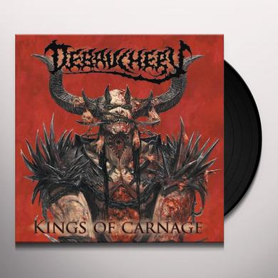 Debauchery KINGS OF CARNAGE Vinyl Record - Limited Edition