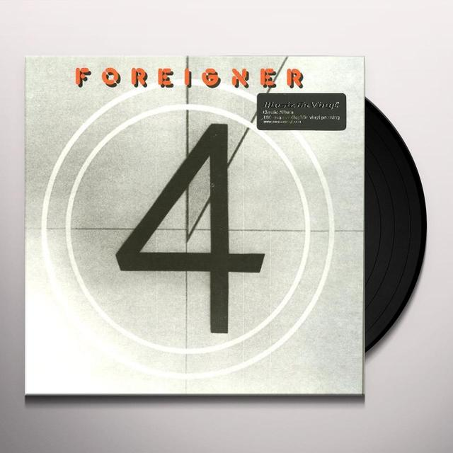 Foreigner 4 Vinyl Record - Holland Import