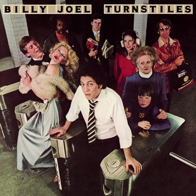 Billy Joel TURNSTILES Vinyl Record - 180 Gram Pressing