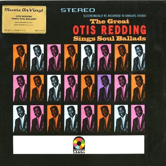 Otis Redding SINGS SOUL BALLADS Vinyl Record - 180 Gram Pressing