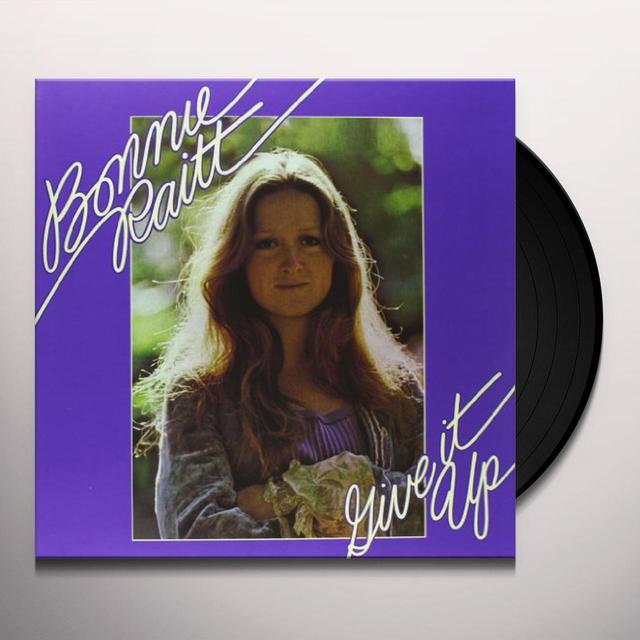 Bonnie Raitt GIVE IT UP Vinyl Record - 180 Gram Pressing