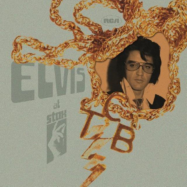 ELVIS AT STAX Vinyl Record - Holland Import