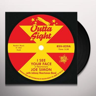 Joe Simon I SEE YOUR FACE Vinyl Record