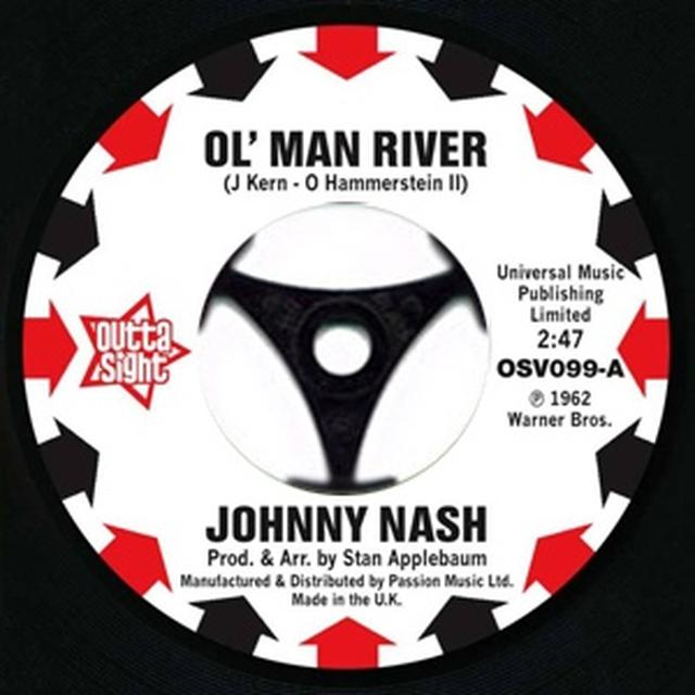 Johnny Nash OL MAN RIVER Vinyl Record