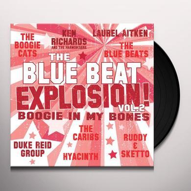 BLUE BEAT EXPLOSION: BOOGIE IN MY BONES / VARIOUS Vinyl Record