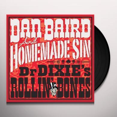 Dan Baird & Homemade Sin DR DIXIE'S ROLLIN BONES Vinyl Record