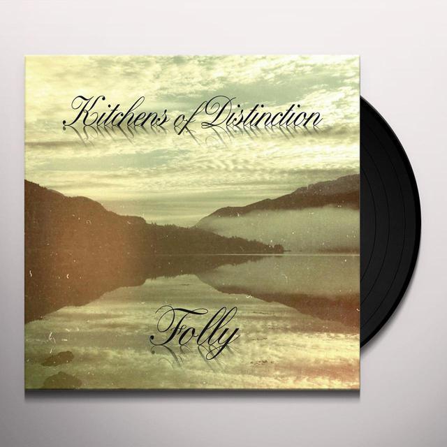 Kitchens Of Distinction FOLLY Vinyl Record