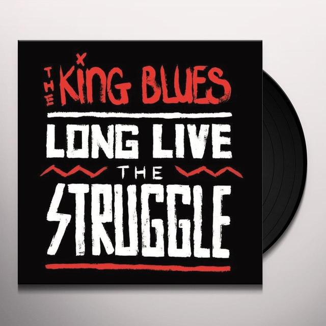 King Blues LONG LIVE THE STRUGGLE Vinyl Record - Limited Edition