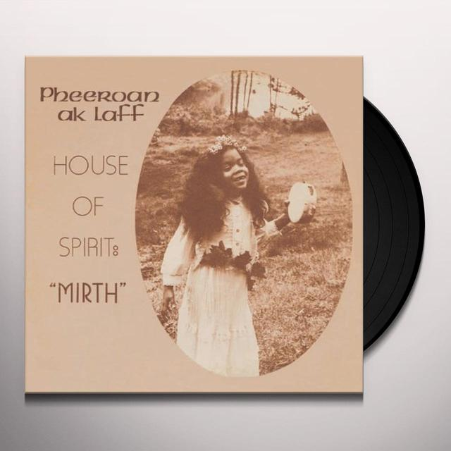 Pheeroan Aklaff HOUSE OF SPIRIT: MIRTH Vinyl Record