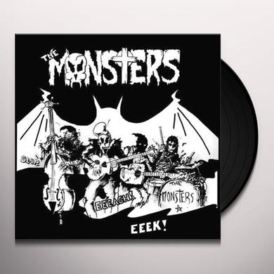 Monsters MASKS Vinyl Record - w/CD