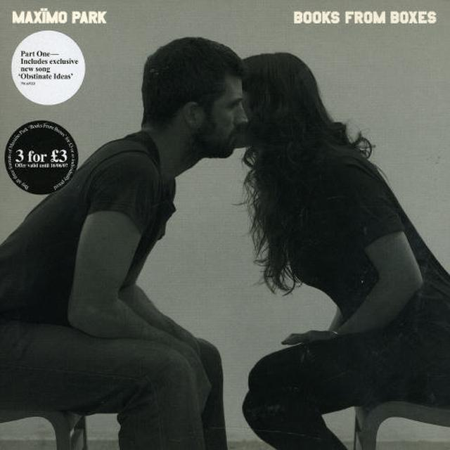 Maximo Park BOOKS FROM BOXES Vinyl Record