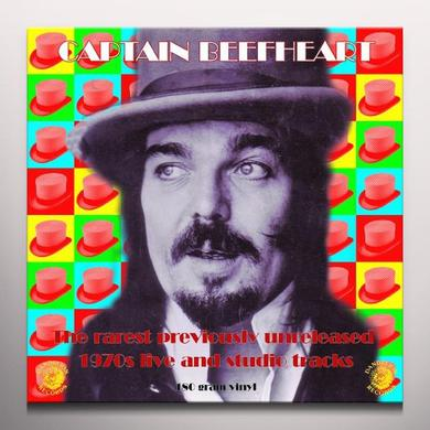 Captain Beefheart RAREST UNRELEASED 1970S LIVE & STUDIO Vinyl Record - Colored Vinyl, 180 Gram Pressing
