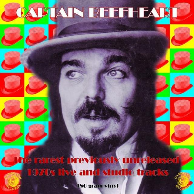 Captain Beefheart RAREST UNRELEASED 1970S LIVE & STUDIO Vinyl Record - Colored Vinyl, 180 Gram Pressing