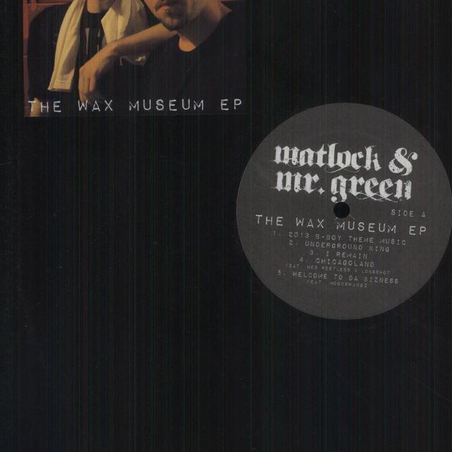 Matlock & Mr Green WAX MUSEUM (EP) Vinyl Record