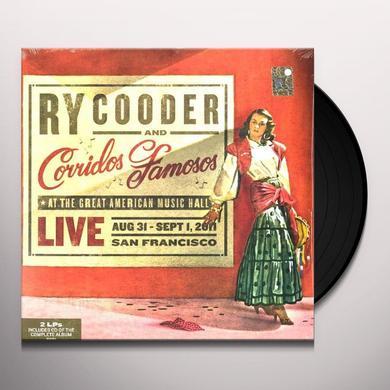 Ry Cooder & Corridos Famosos LIVE IN SAN FRANCISCO Vinyl Record