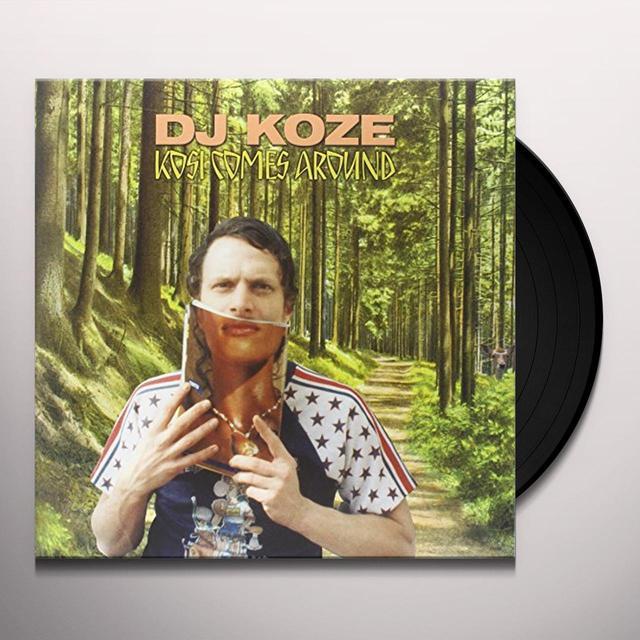 Dj Koze KOSI COMES AROUND Vinyl Record