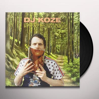 Dj Koze KOSI COMES AROUND Vinyl Record