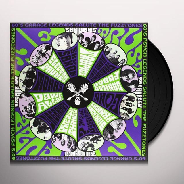 FUZZTONES: IN FUZZ WE TRUST / VARIOUS Vinyl Record