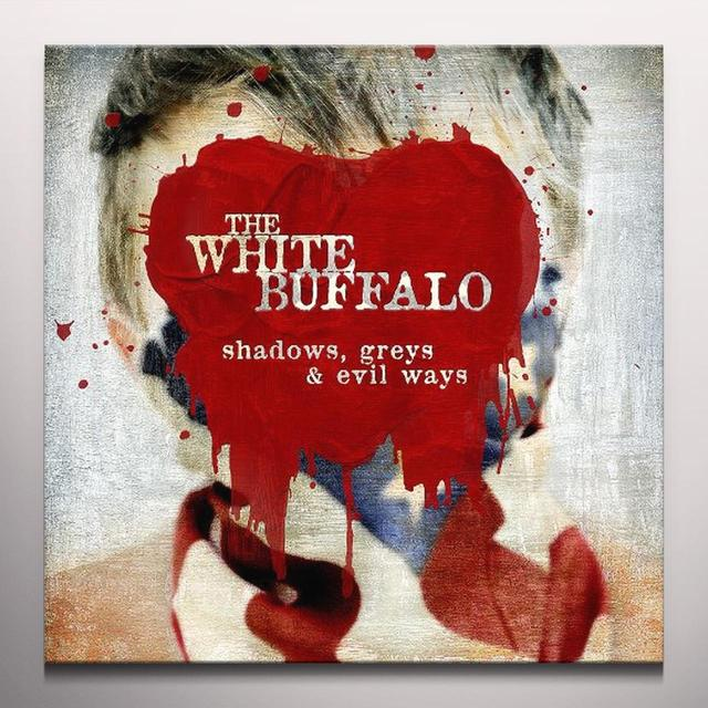 White Buffalo SHADOWS GREYS & EVIL WAYS Vinyl Record - Colored Vinyl, 180 Gram Pressing, Digital Download Included