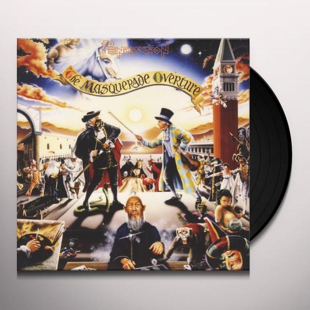 Pendragon MASQUERADE OVERTURE Vinyl Record
