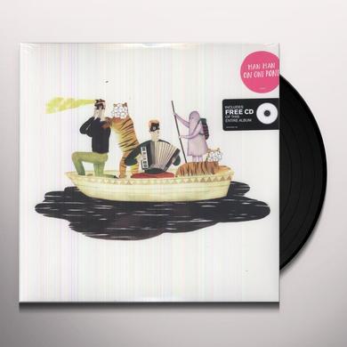 Man Man ON ONI POND (BONUS CD) Vinyl Record