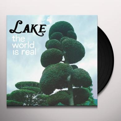 Lake WORLD IS REAL Vinyl Record - Digital Download Included
