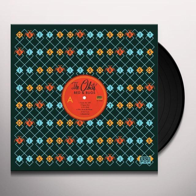 Obits BED & BUGS Vinyl Record - Digital Download Included