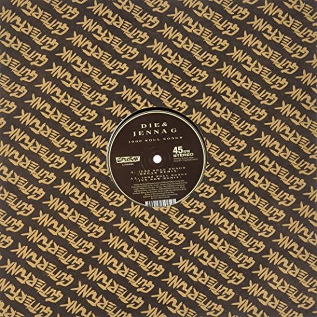 Die & Jenna G 1000 SOUL SONGS (EP) Vinyl Record