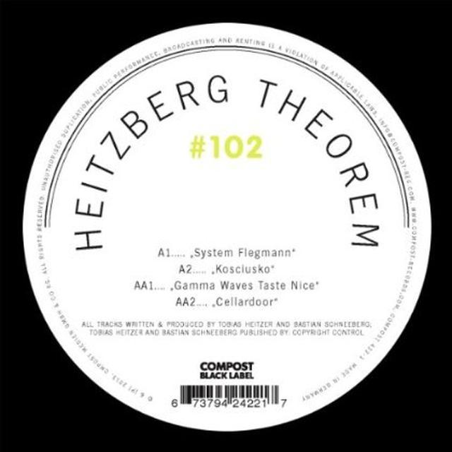 Heitzberg Theorem COMPOST BLACK LABEL 102 Vinyl Record