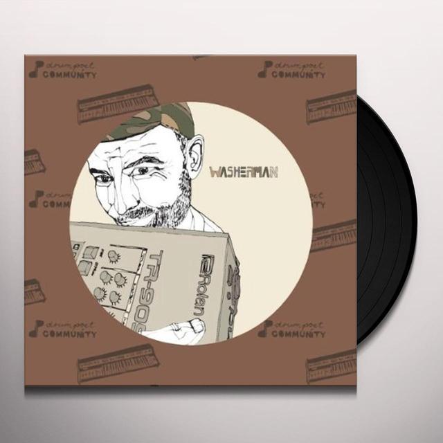 Washerman RAW POET (EP) Vinyl Record