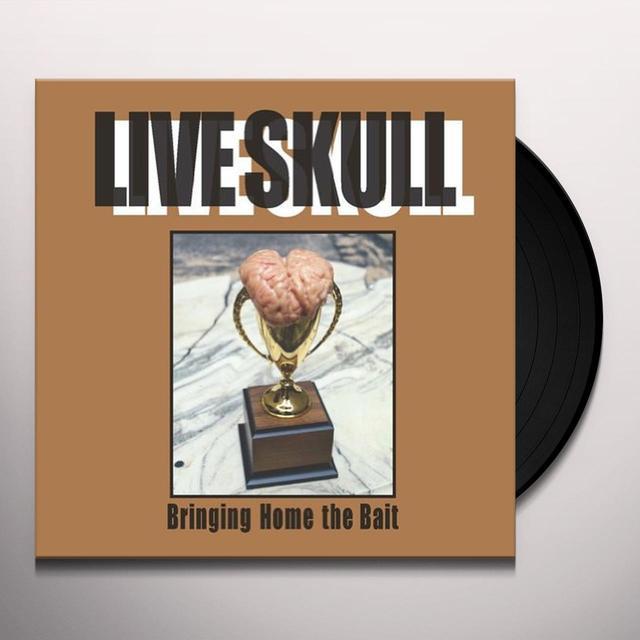 Live Skull BRINGING HOME THE BAIT (BONUS TRACKS) Vinyl Record