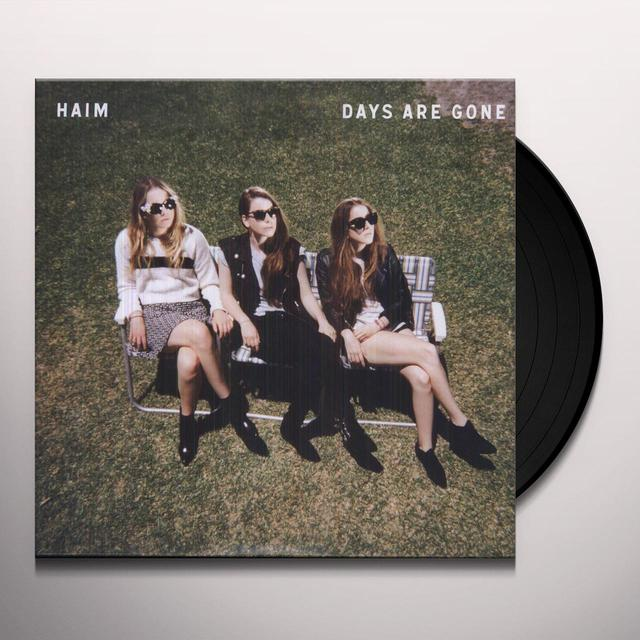 Haim DAYS ARE GONE Vinyl Record - 180 Gram Pressing, Digital Download Included