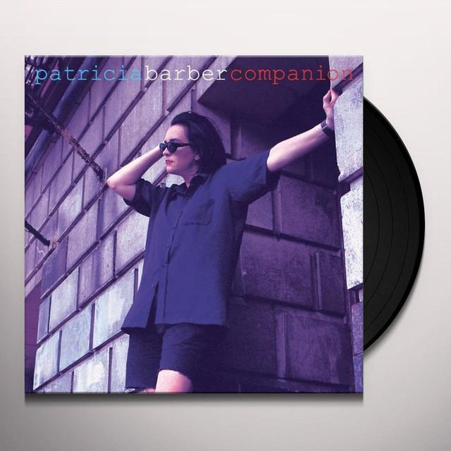 Patricia Barber COMPANION (BONUS TRACKS) Vinyl Record - 180 Gram Pressing