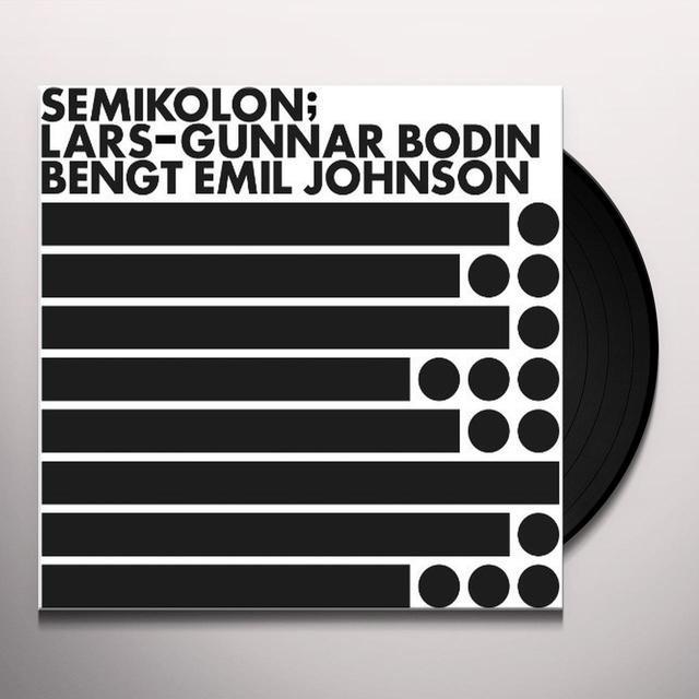 Lars-Gunnar Bodin SEMIKOLON Vinyl Record