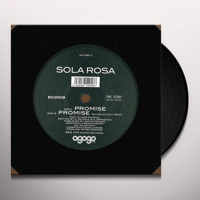 Sola Rosa PROMISE Vinyl Record