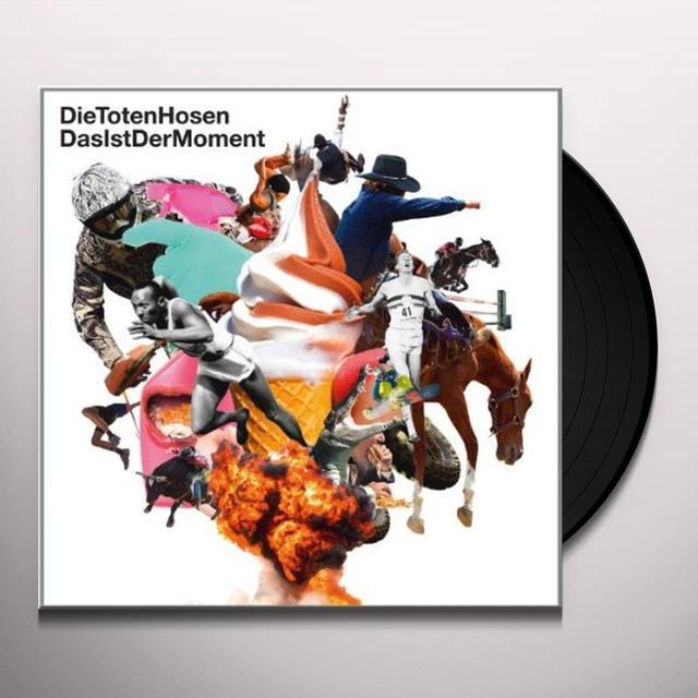 Die Toten Hosen DAS IST DER MOMENT Vinyl Record - Limited Edition