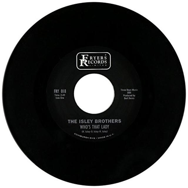 The Isley Brothers WHO'S THAT LADY Vinyl Record