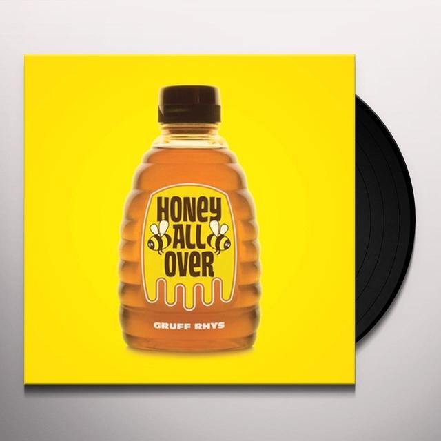 Gruff Rhys HONEY ALL OVER Vinyl Record
