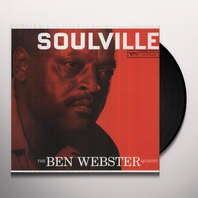 Ben Webster SOULVILLE Vinyl Record - 180 Gram Pressing