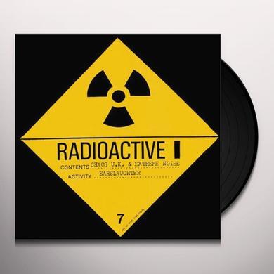 Extreme Noise Terror / Chaos Uk EARSLAUGHTER (BONUS TRACKS) Vinyl Record