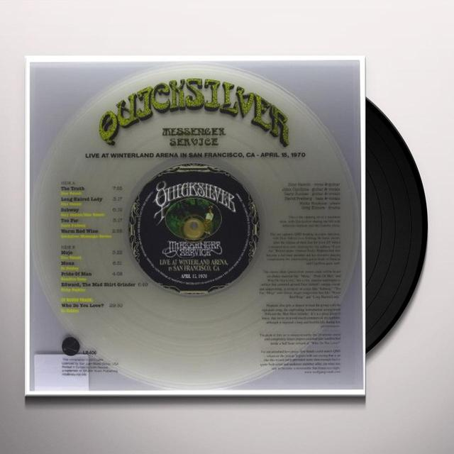 Quicksilver Messenger Service LIVE AT WINTERLAND ARENA (BONUS CD) Vinyl Record