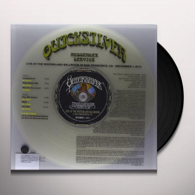 Quicksilver Messenger Service LIVE AT THE WINTERLAND BALLROOM (BONUS CD) Vinyl Record